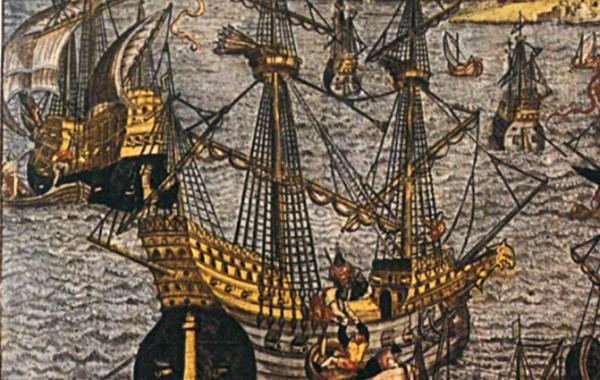 The Saane flag ship