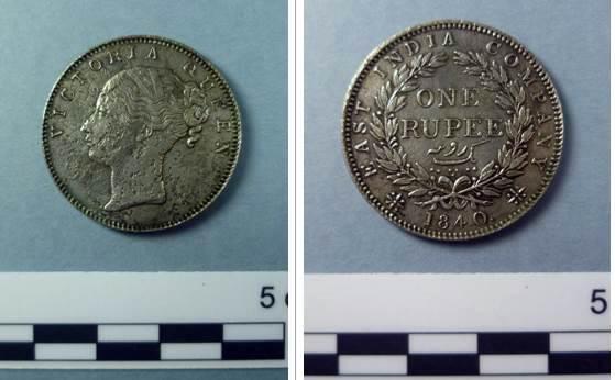 moneda 1 rupia